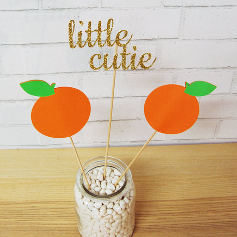 A Little Cutie is on the Way Centerpiece