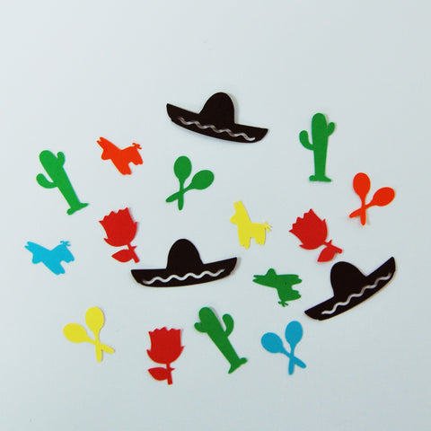 Mexican Fiesta Confetti on Pinterest