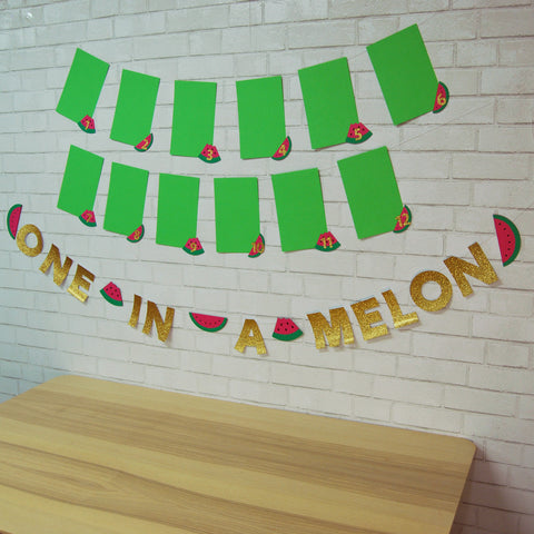 One In A Melon Monthly Photo Banner