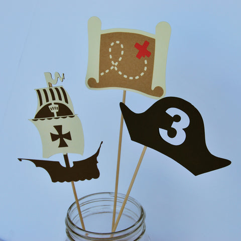 Pirate Centerpieces