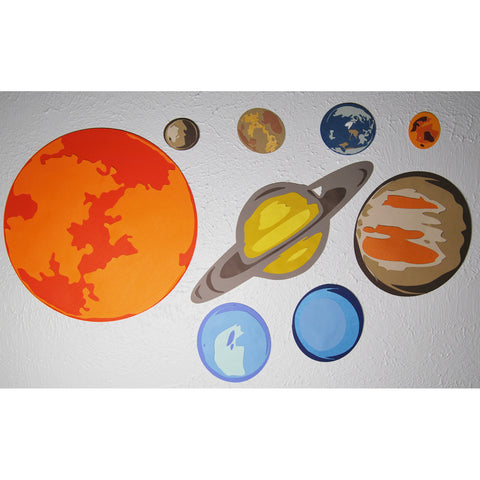 Solar System Wall Decoration