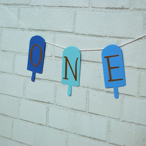 Popsicle High Chair Banner on Pinterest