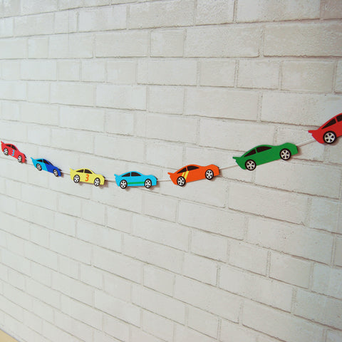 Race Car Garland