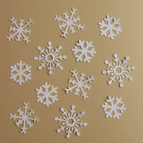 Snowflake Confetti on Pinterest