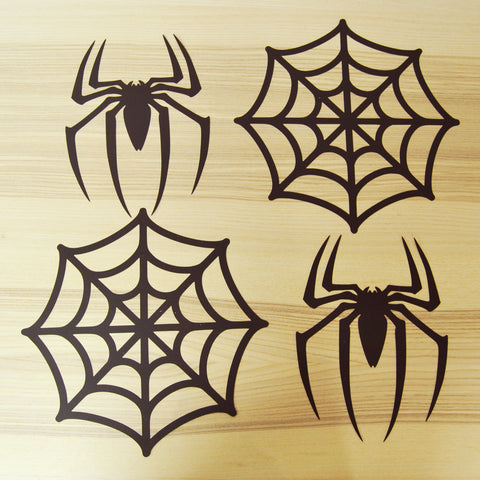 Spider and Spider Web Cutouts