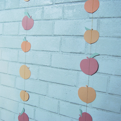 Sweet As A Peach Party Garland on Pinterest