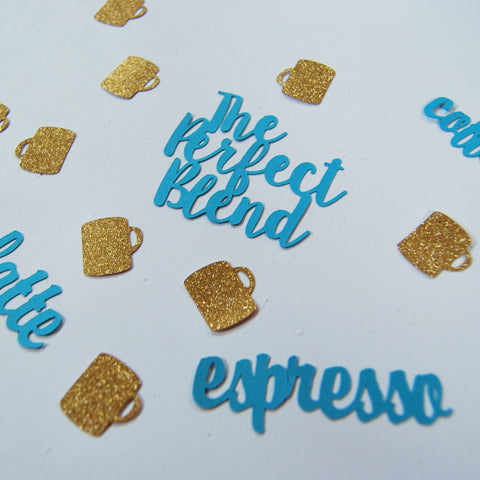 """The Perfect Blend"" Engagement Confetti on Pinterest"