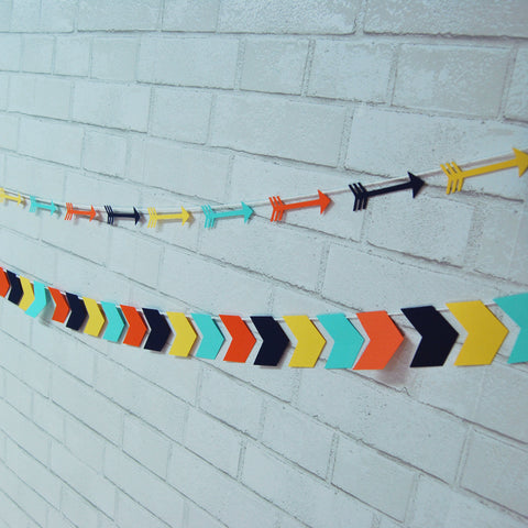 Wild One Tribal Arrow Garland on Pinterest