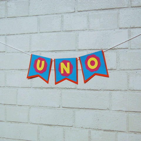 """Uno"" Highchair Banner on Pinterest"