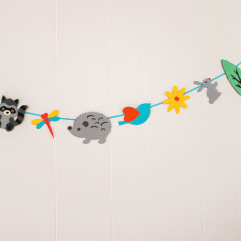 Woodland Creature Garland