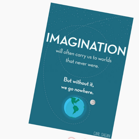"""Imagination"" Print on Pinterest"