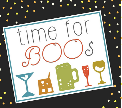 """Time For Boos"" Halloween Print on Pinterest"