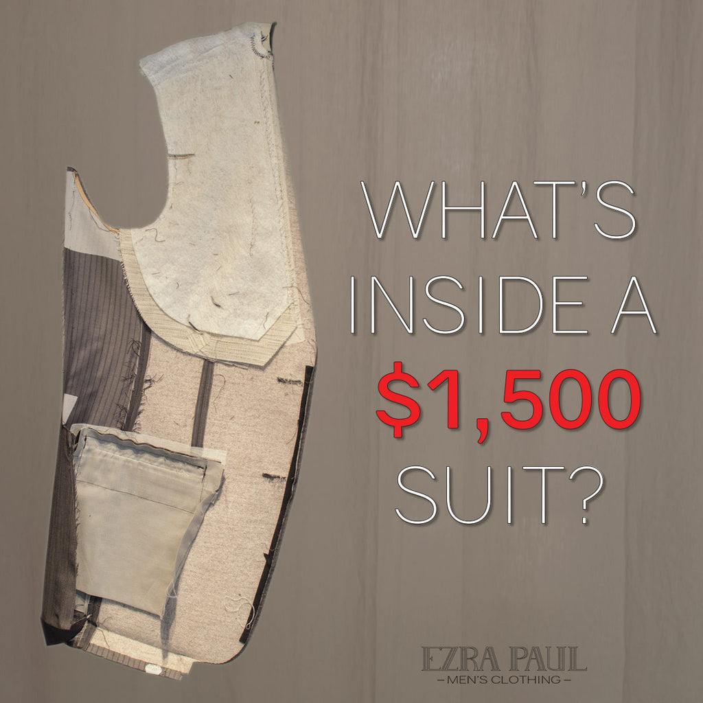 What's Inside a $1,500 Suit