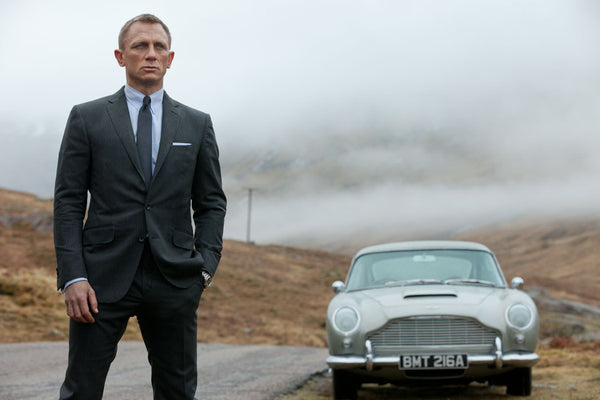 James Bond Spectre Daniel Craig suit