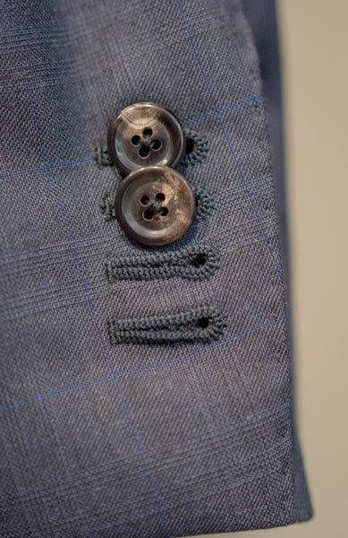 Functional buttonholes