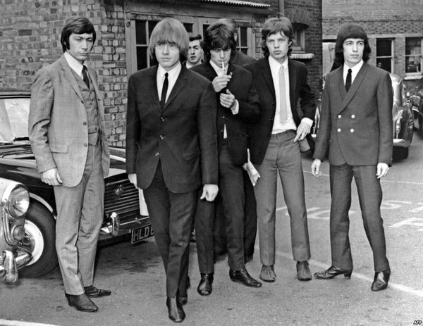 Rolling Stones 1965 suits