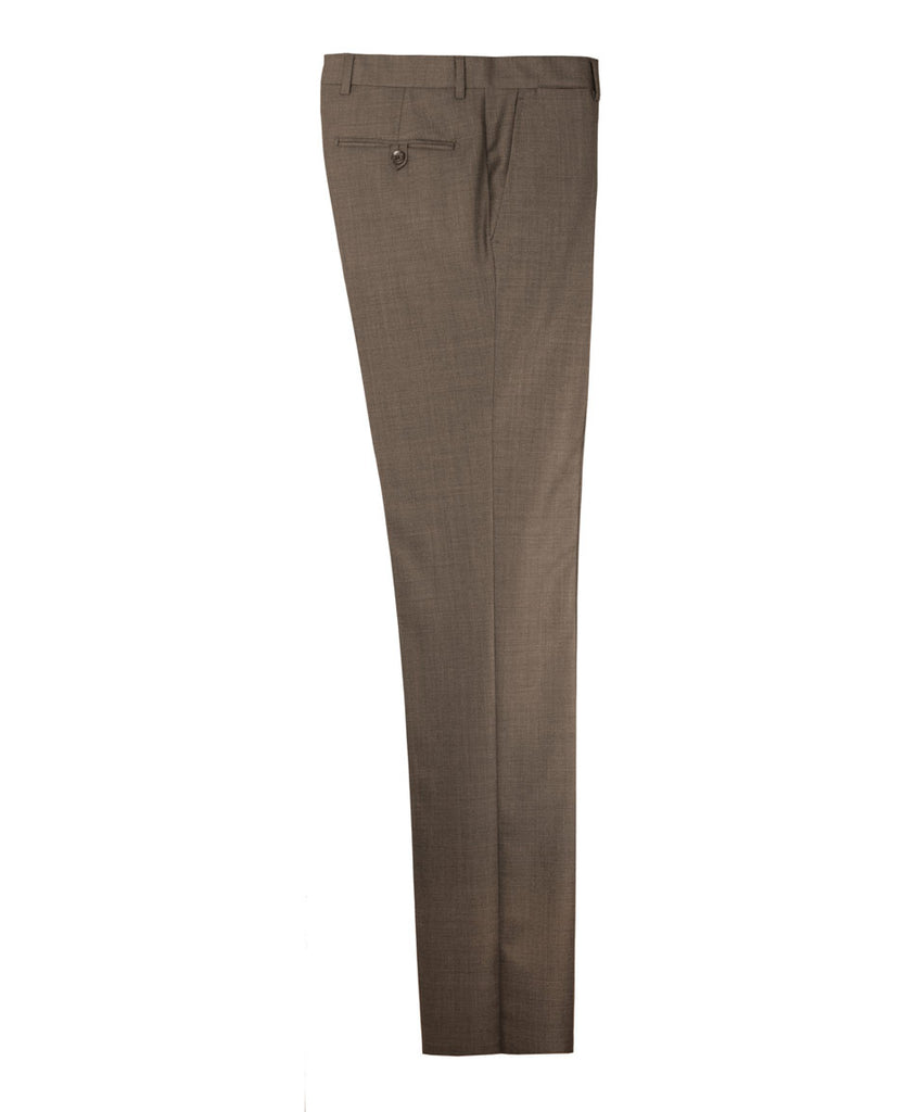 Brown Wool Trousers - Ezra Paul Clothing