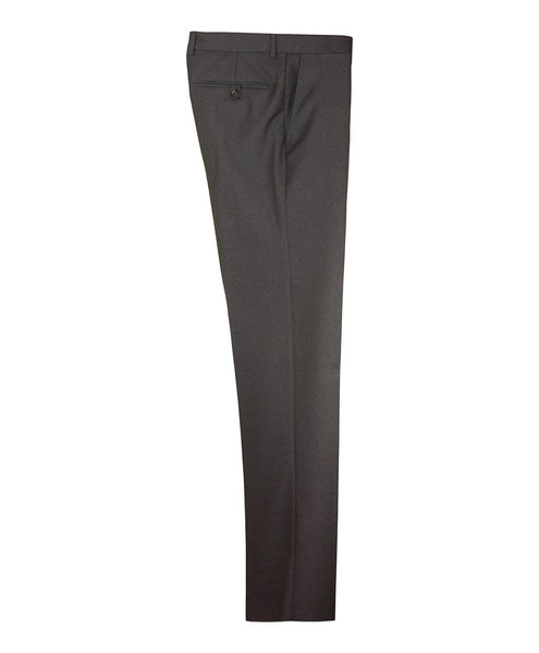 Trousers for a charcoal grey suit. Made in Italy and fully canvassed.