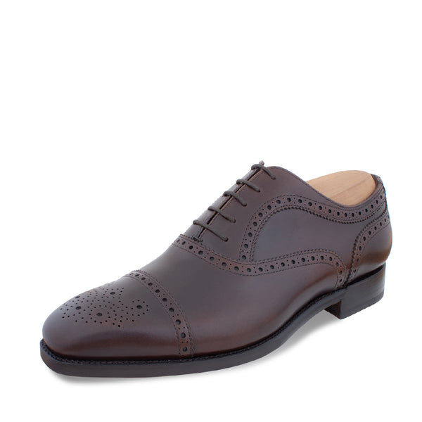 Burgundy Half Brogue Oxford