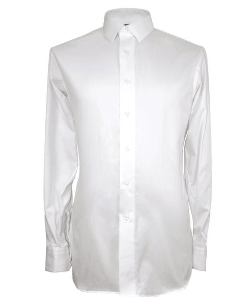 Solid White Shirt - Ezra Paul Clothing
