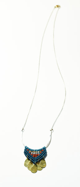Silver Tensa Necklace