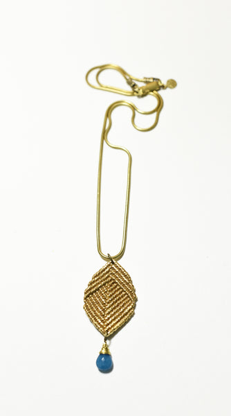 Gilded Buddha Necklace