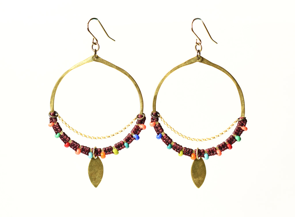 Cuna Earrings
