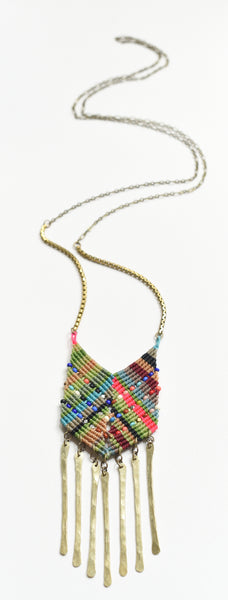 Large Chevron Necklace