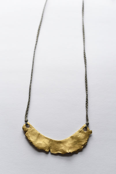 Torn Clay Cast Necklace