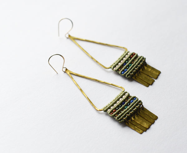 Rooted Temple Earrings