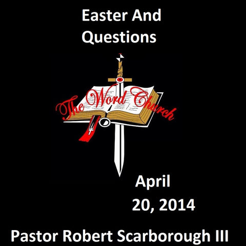 Easter And Questions