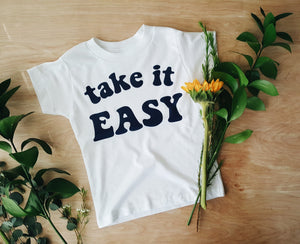 Take It Easy | kids tee