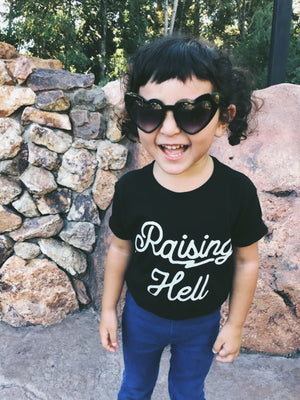 Raising Hell | kid's tee