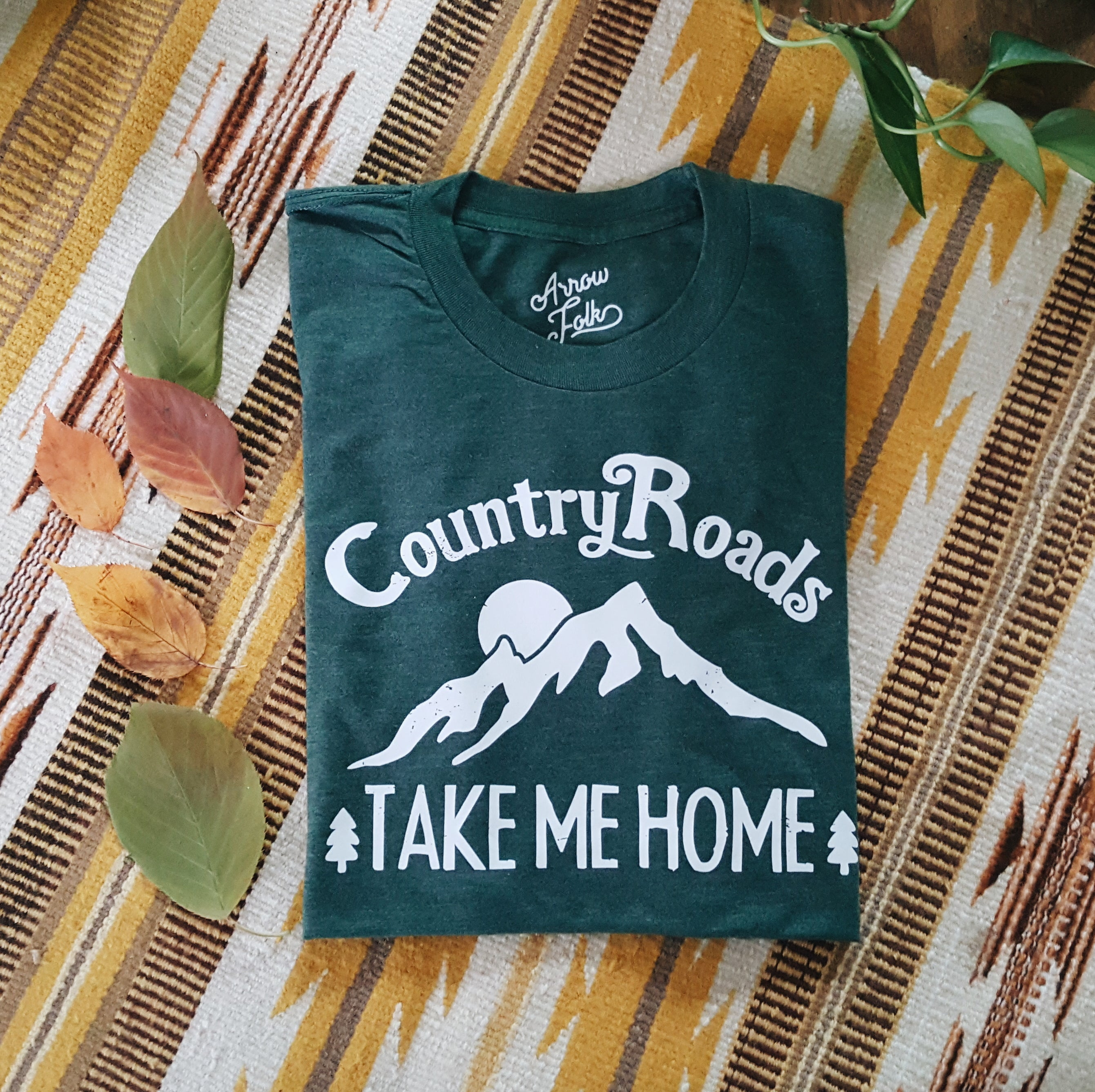 Country Roads | adult tee