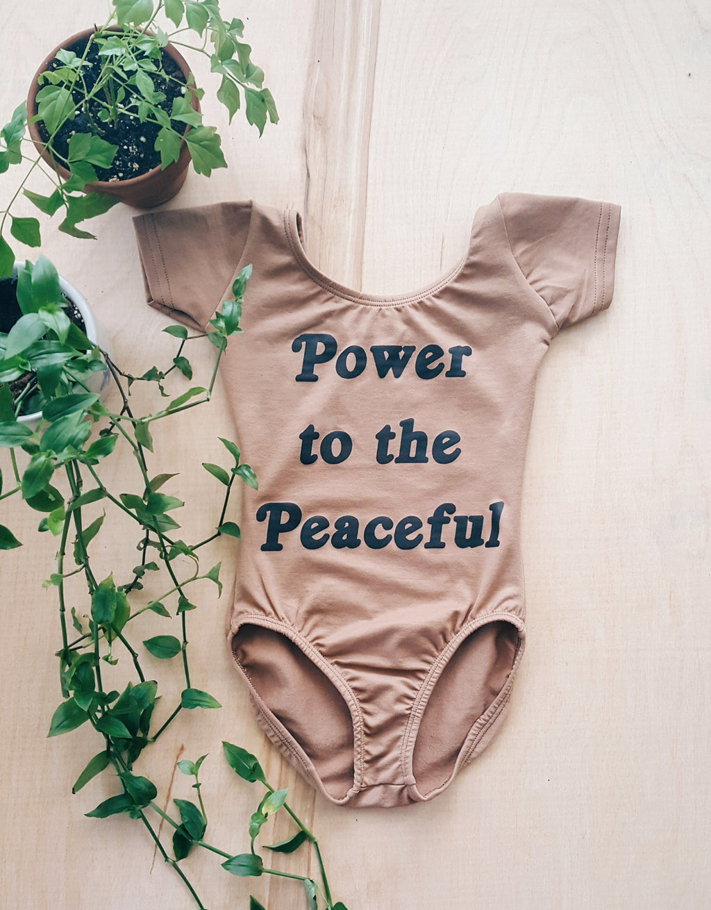 Power to the Peaceful Leotard