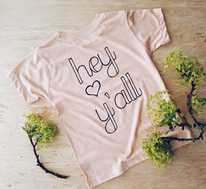 Hey Y'all | kid's tee