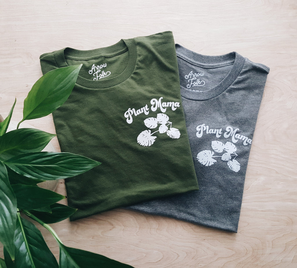 Plant Mama | adult pocket tee