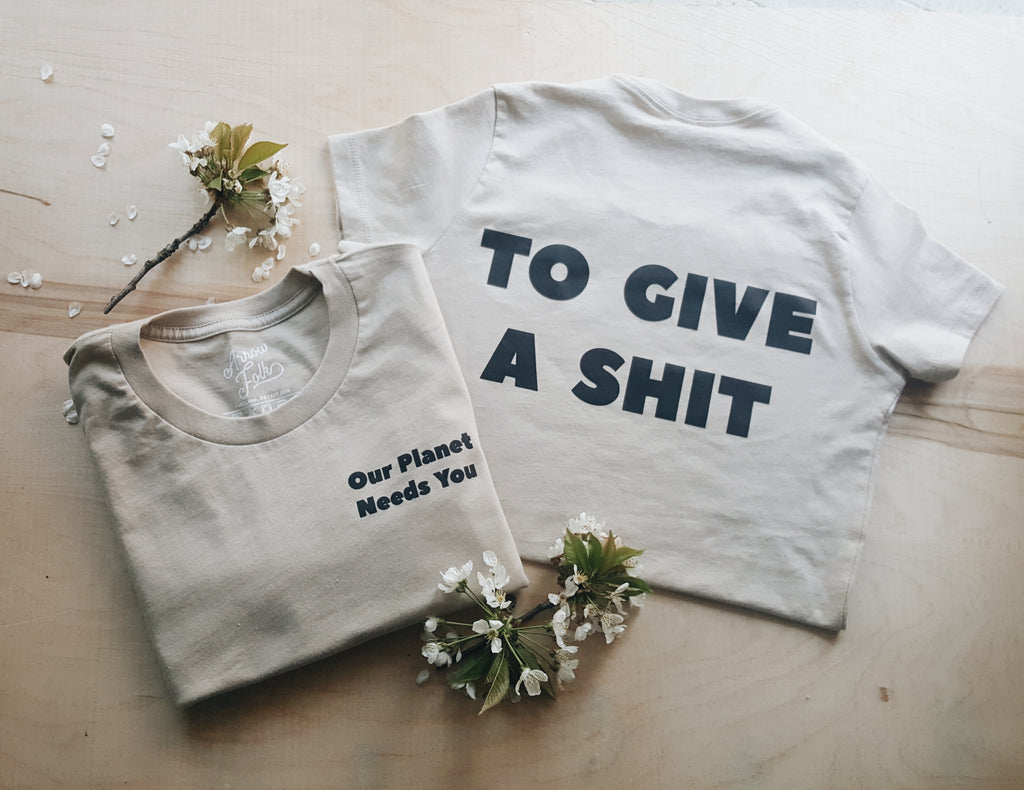 Give A Shit | adult pocket tee
