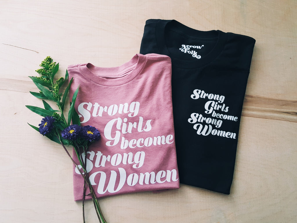 Strong Girls | adult tee