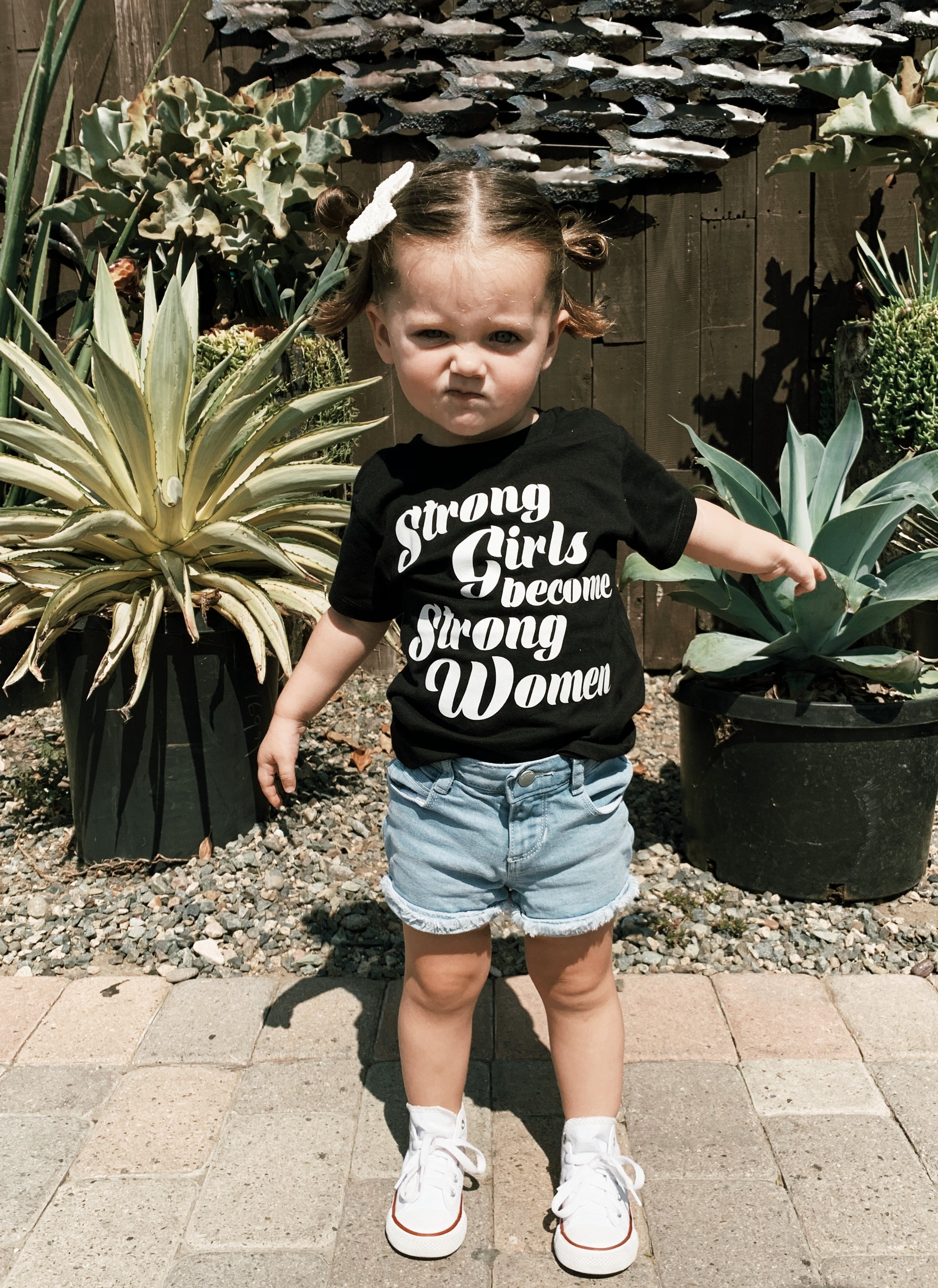 Strong Girls | kid's tee