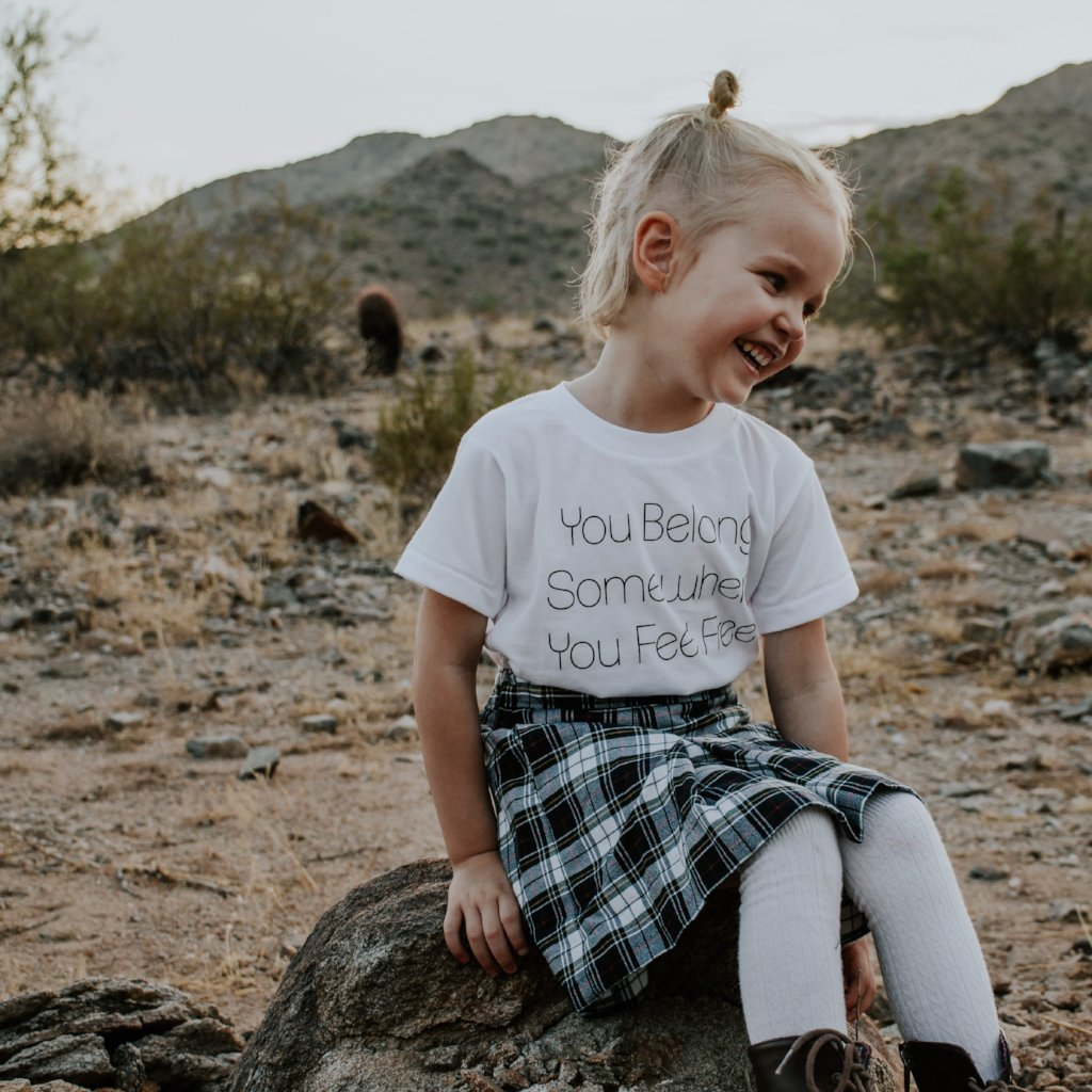 You Belong Tee (kid & adult)