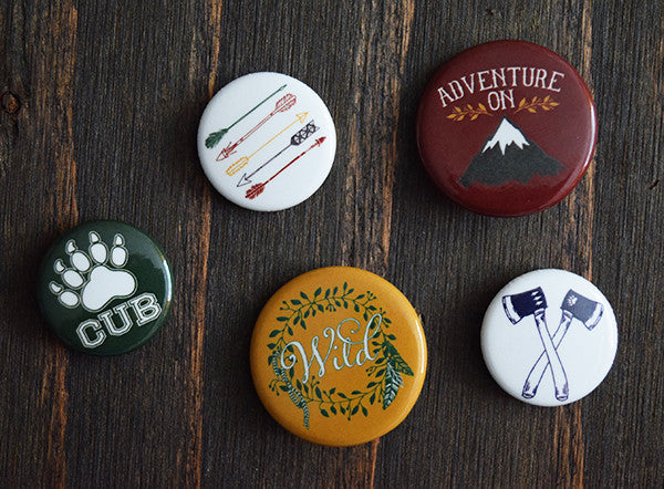 Wander Button Pack