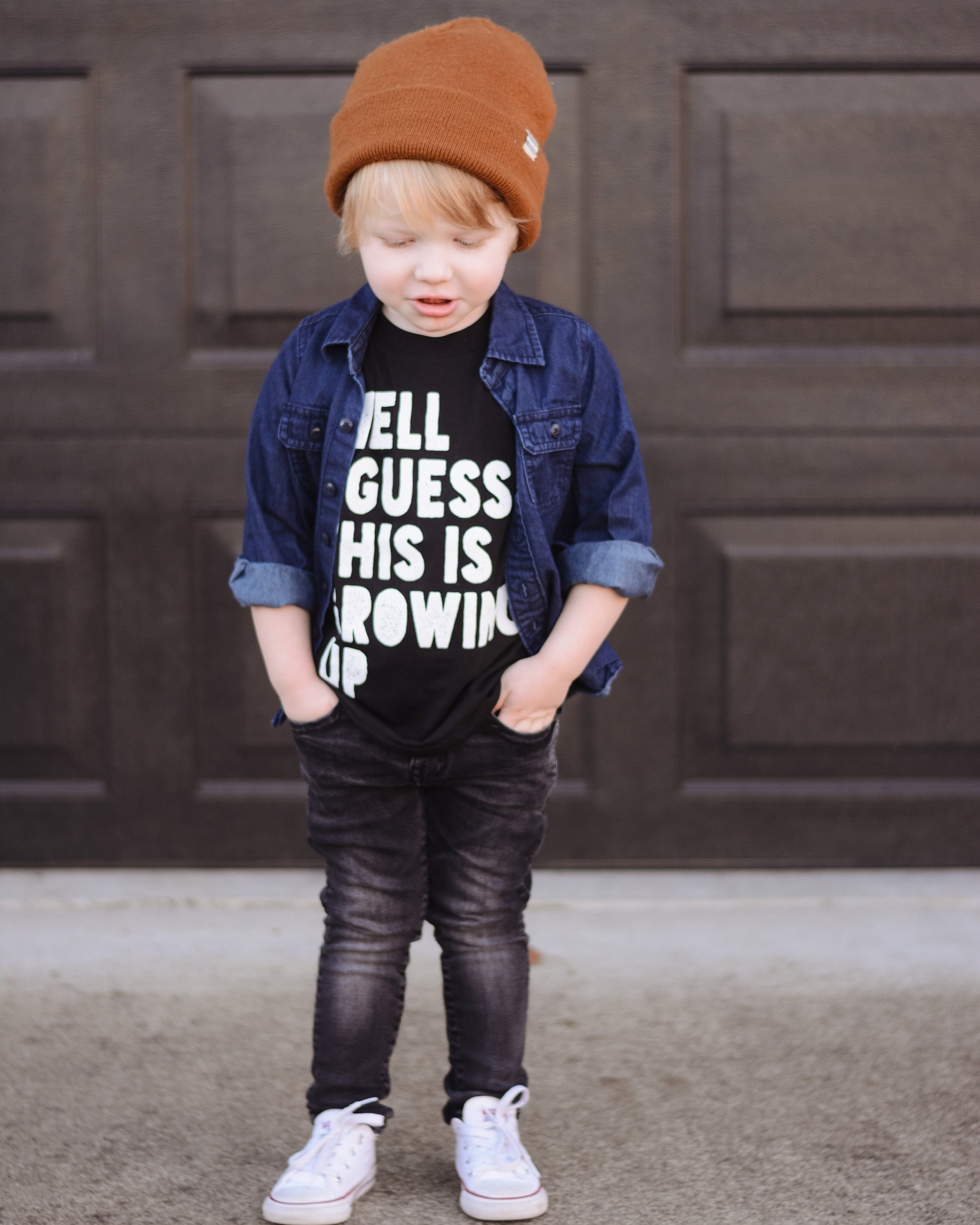 Growing Up | kid's tee