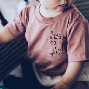 Hey Y'all Infant Tee