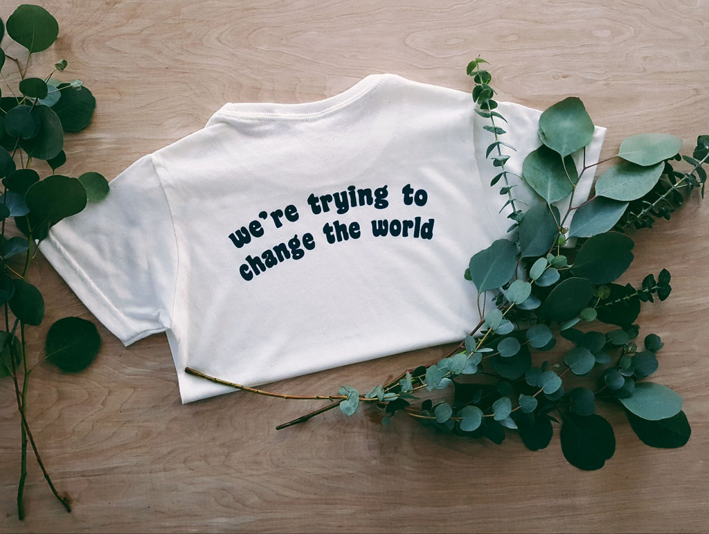 Change the World Pocket Tee