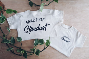 Made of Stardust | kid's pocket tee
