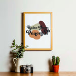 Raise Them Peaceful | Print