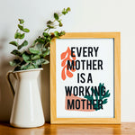 Working Mother Print