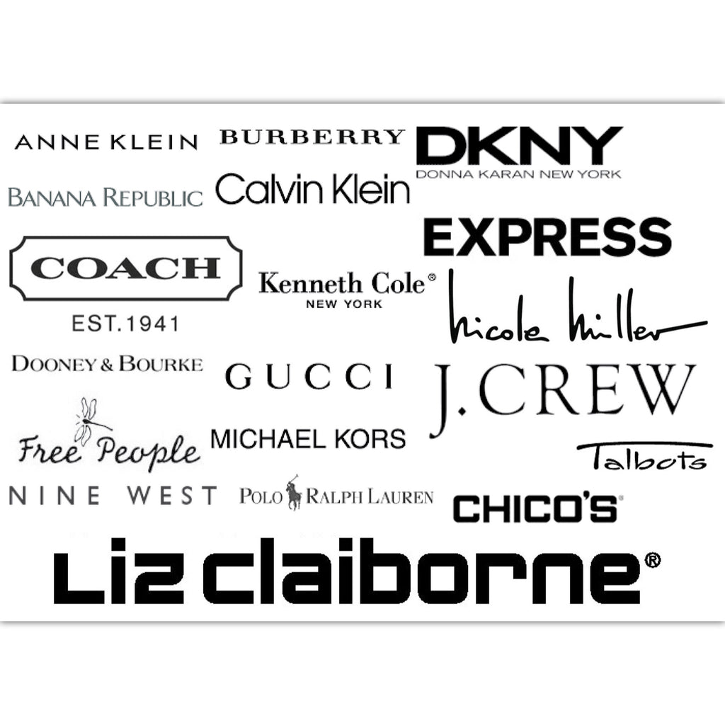 Designer Clothes Names List | 1 000 Wholesale Lot Women S Name Brand Designer Clothing Shoes