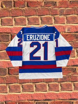 Miracle On Ice- EJ Eruzione #21 (White)